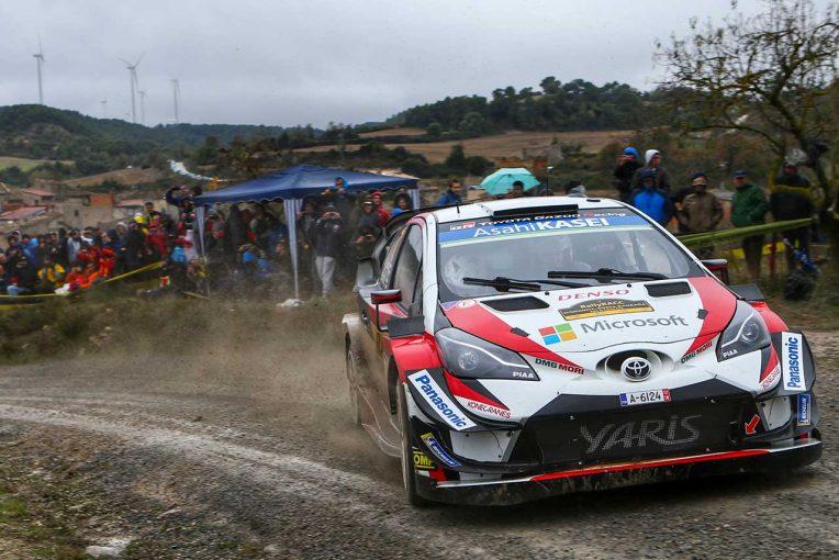 ラリー/WRC | WRC:トヨタ、王座目指して第13戦スペインへ。マキネン「全タイトル獲得へ攻めの姿勢を続ける」