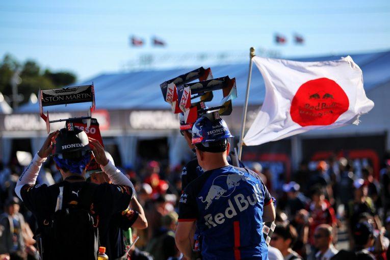 F1 | SNS特集F1日本GP:「台風を連れてきちゃった」ガスリー。ホンダRA272をドライブするフェルスタッペンに琢磨がレクチャー