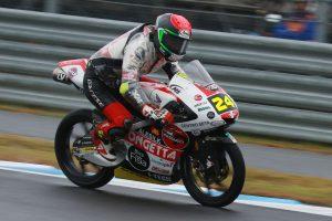 MotoGP | 鈴木竜生が最終アタックでフロントロウ獲得。ポールはQ1スタートの僚友アントネッリ/MotoGP日本GP Moto3予選