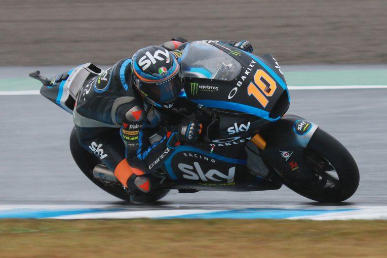 MotoGP   マリーニが2番手に1秒差をつけ堂々のポール獲得。長島哲太は6列目スタート/MotoGP日本GP Moto2予選