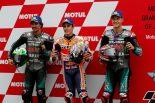 MotoGP | マルケス、変化激しい天候で「コンディションはわからないけど勝ちたい」/MotoGP第16戦日本GP 予選トップ3コメント