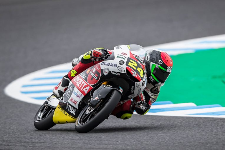 MotoGP | 鈴木竜生、トップ争い展開も最終周のオーバーテイクに泣く。優勝はダラ・ポルタ/MotoGP日本GP Moto3決勝