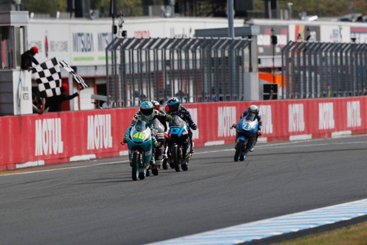 鈴木竜生、トップ争い展開も最終周のオーバーテイクに泣く。優勝はダラ・ポルタ/MotoGP日本GP Moto3決勝