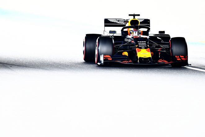 2019年F1日本GPでのマックス・フェルスタッペン(レッドブル・ホンダ)
