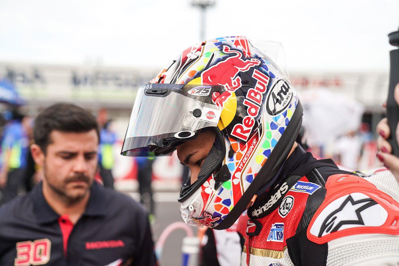 MotoGP日本GP:中上、「声援のおかげで走り切れた」と2019年最後のレースで渾身の16位