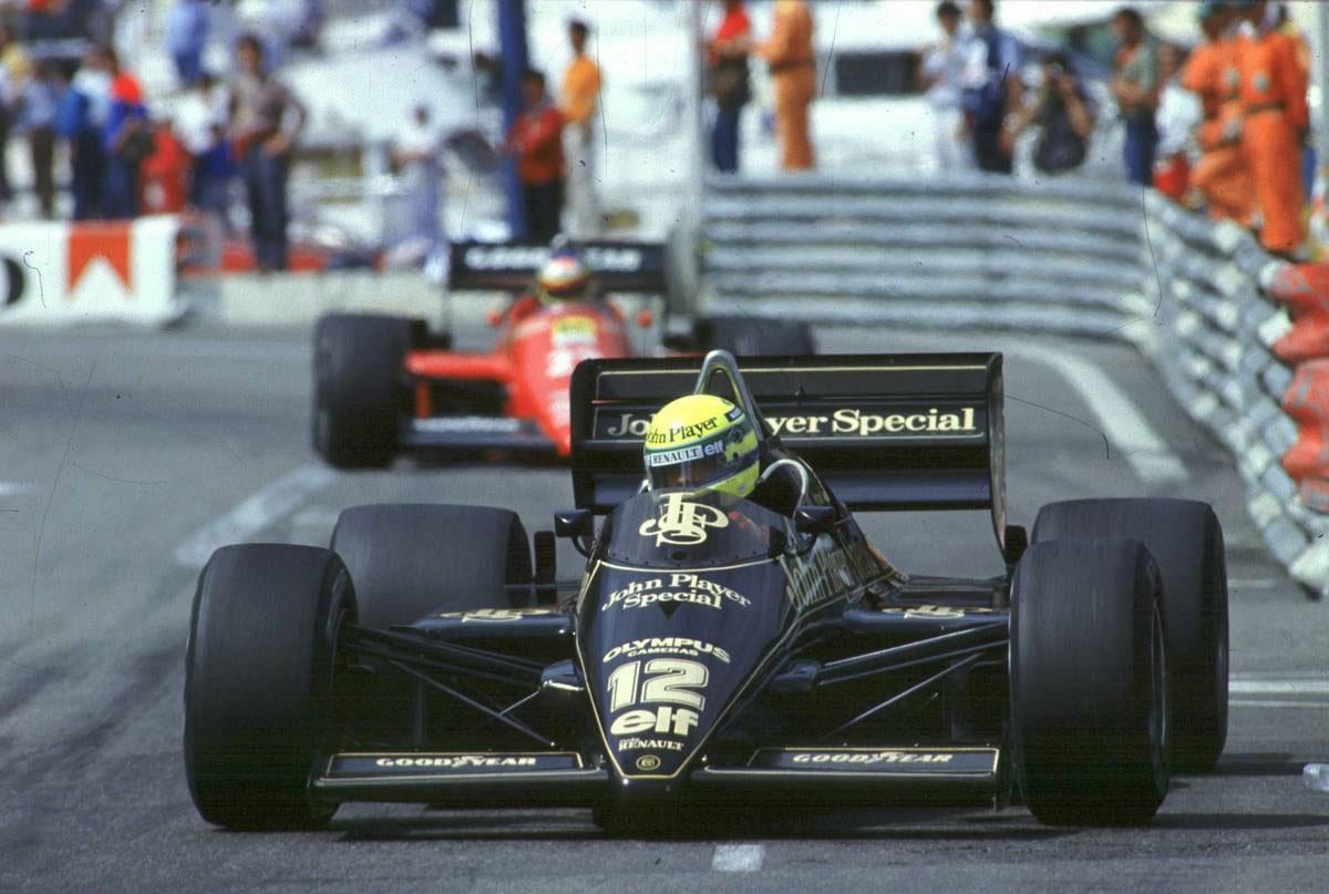 1985年F1モナコGP アイルトン・セナ ロータス97T
