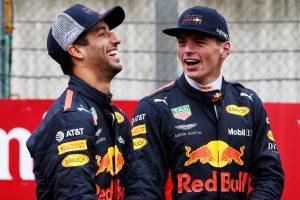 F1 | 2018年F1オーストリアGP ダニエル・リカルドとマックス・フェルスタッペン(レッドブル)
