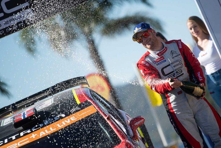 ラリー/WRC   WRC:シトロエン、2019年最終戦へ3台目のC3 WRC投入。王座争うオジエをアシストする狙い
