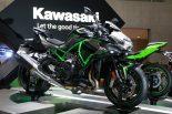 東京モーターショーで公開されたカワサキZ H2