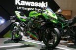 MotoGP | カワサキ、250cc4気筒の『ZX-25R』、スーパーチャージャー搭載のネイキッド『Z H2』初公開/東京モーターショー
