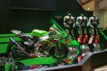 第46回東京モーターショー2019 に展示されている鈴鹿8耐のカワサキ優勝マシン