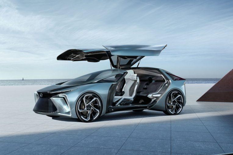 クルマ | 2030年のレクサス電動車を示唆するコンセプトが東京モーターショーで世界初公開