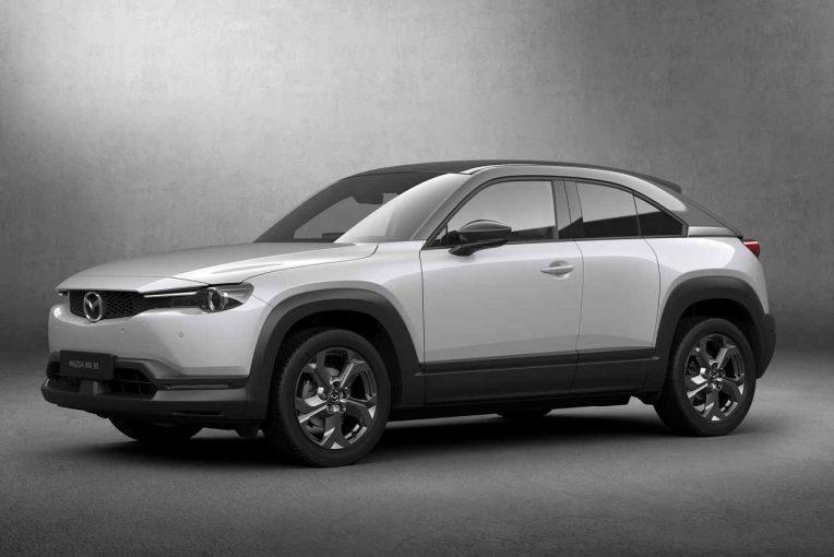クルマ | マツダ初の量産EV『マツダMX-30』世界初公開。人馬一体による走る歓びをEVでも追求