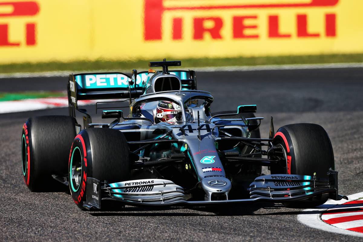2019年F1第17戦日本GP ルイス・ハミルトン(メルセデス)