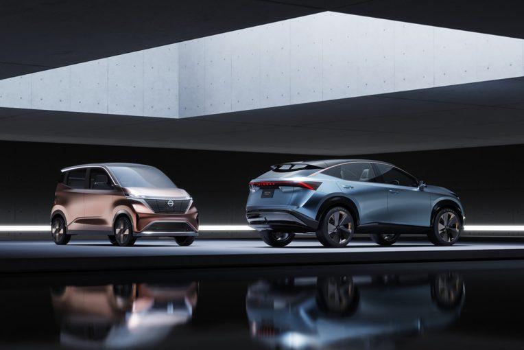 クルマ | 最新ニッサン・インテリジェント・モビリティを体現する2台のEVコンセプトカーを東京モーターショーで初披露