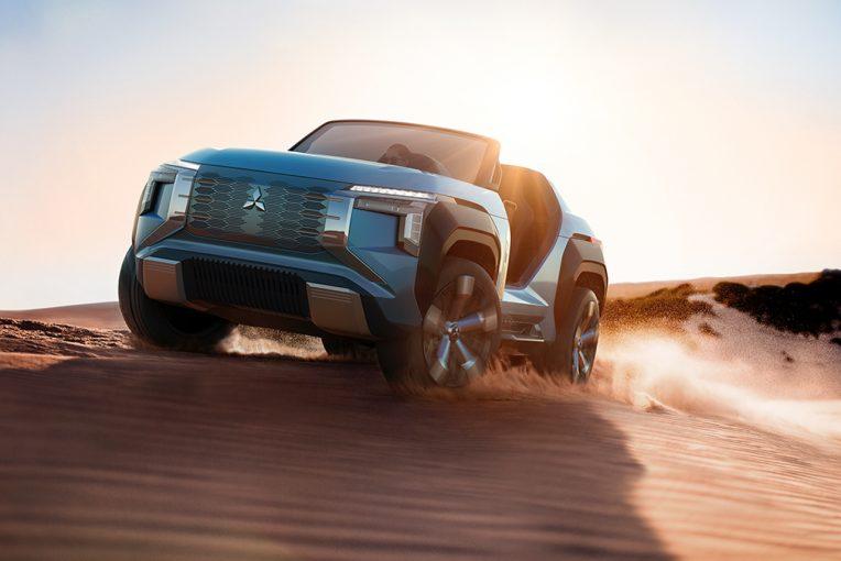 クルマ   ミツビシ、東京モーターショーでコンセプトカー2車種を世界初披露。2022年までに新たな電動車も