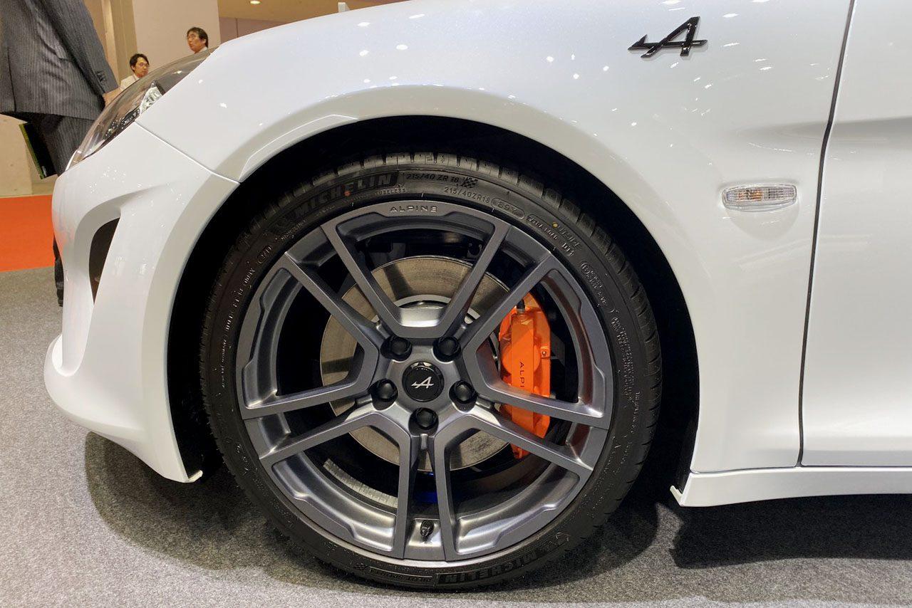 アルピーヌA110をよりスポーティーに仕上げた『A110S』。東京モーターショーで日本初披露