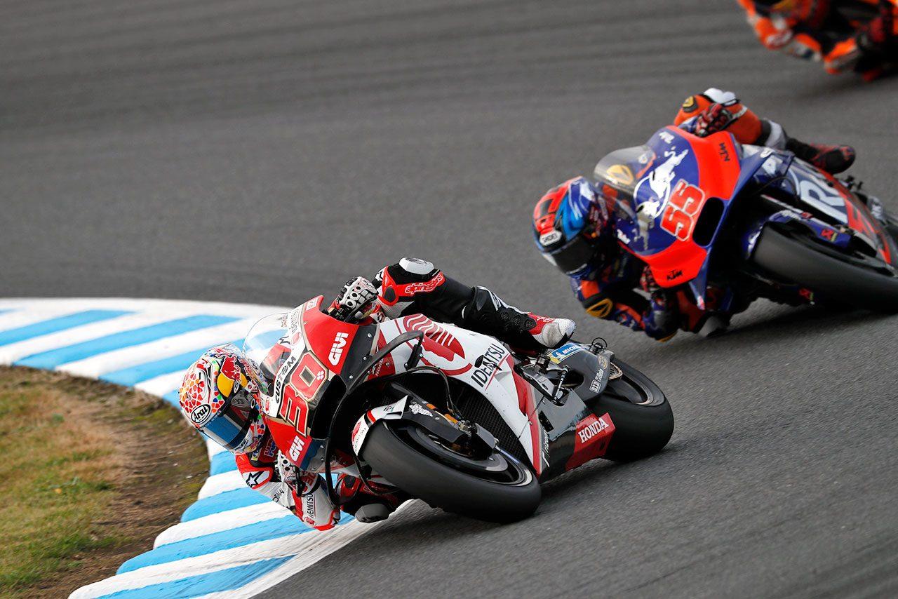 MotoGP現地情報:王者獲得後のジンクスを打ち破ったマルケス。長島哲太を襲ったトラブルの原因