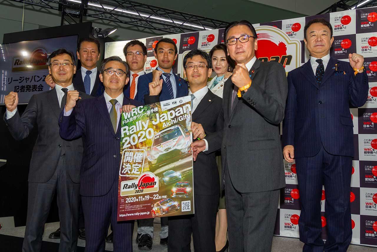 第46回東京モーターショー内で行われた記者会見の様子