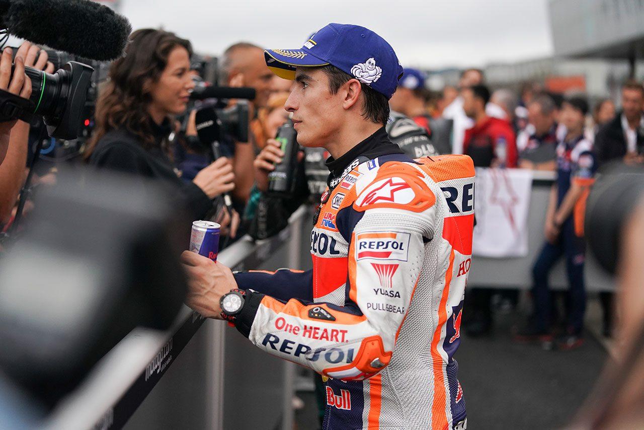 マルケス、MotoGP日本GPでの序盤のハイペースは「うれしい誤算」。残り3戦で最後の目標チームタイトルに挑む
