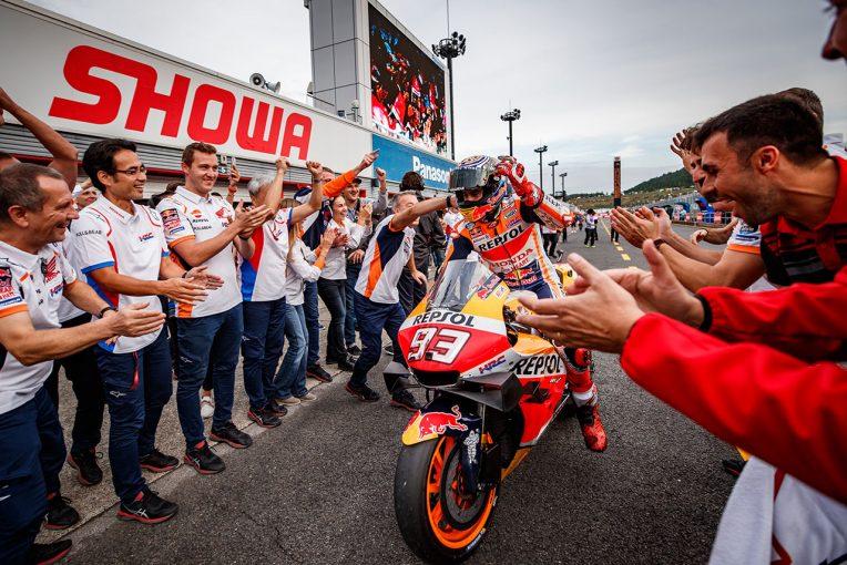 MotoGP | マルケス、MotoGP日本GPでの序盤のハイペースは「うれしい誤算」。残り3戦で最後の目標チームタイトルに挑む