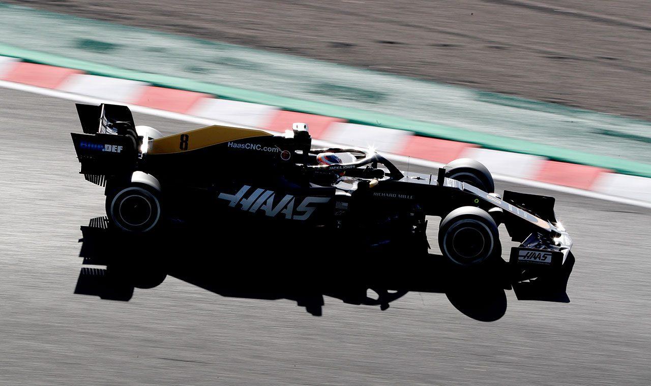 2019年F1第17戦日本GP ロマン・グロージャン(ハース)