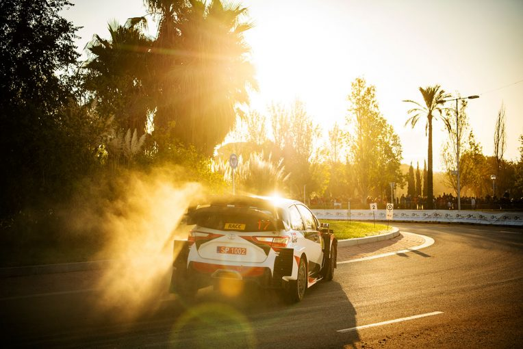ラリー/WRC | WRC:第13戦スペインのシェイクダウンはトヨタのミークがトップ。勝田貴元が5番手タイム