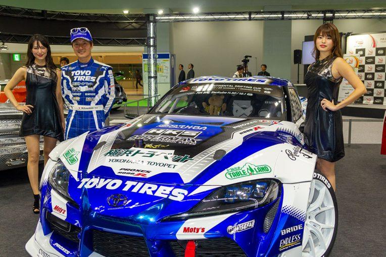 海外レース他 | ドリフト世界一決定戦にV8エンジン搭載GRスープラ参戦。「日本代表として恥じない走りをするため」