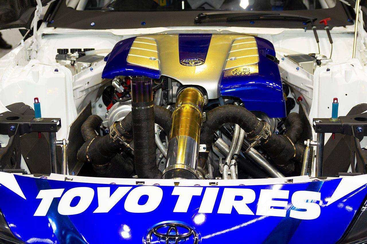 V8エンジンを積んだGRスープラ