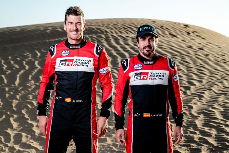 ラリー/WRC | フェルナンド・アロンソの2020年ダカール参戦が正式決定。トヨタ・ハイラックスで参戦