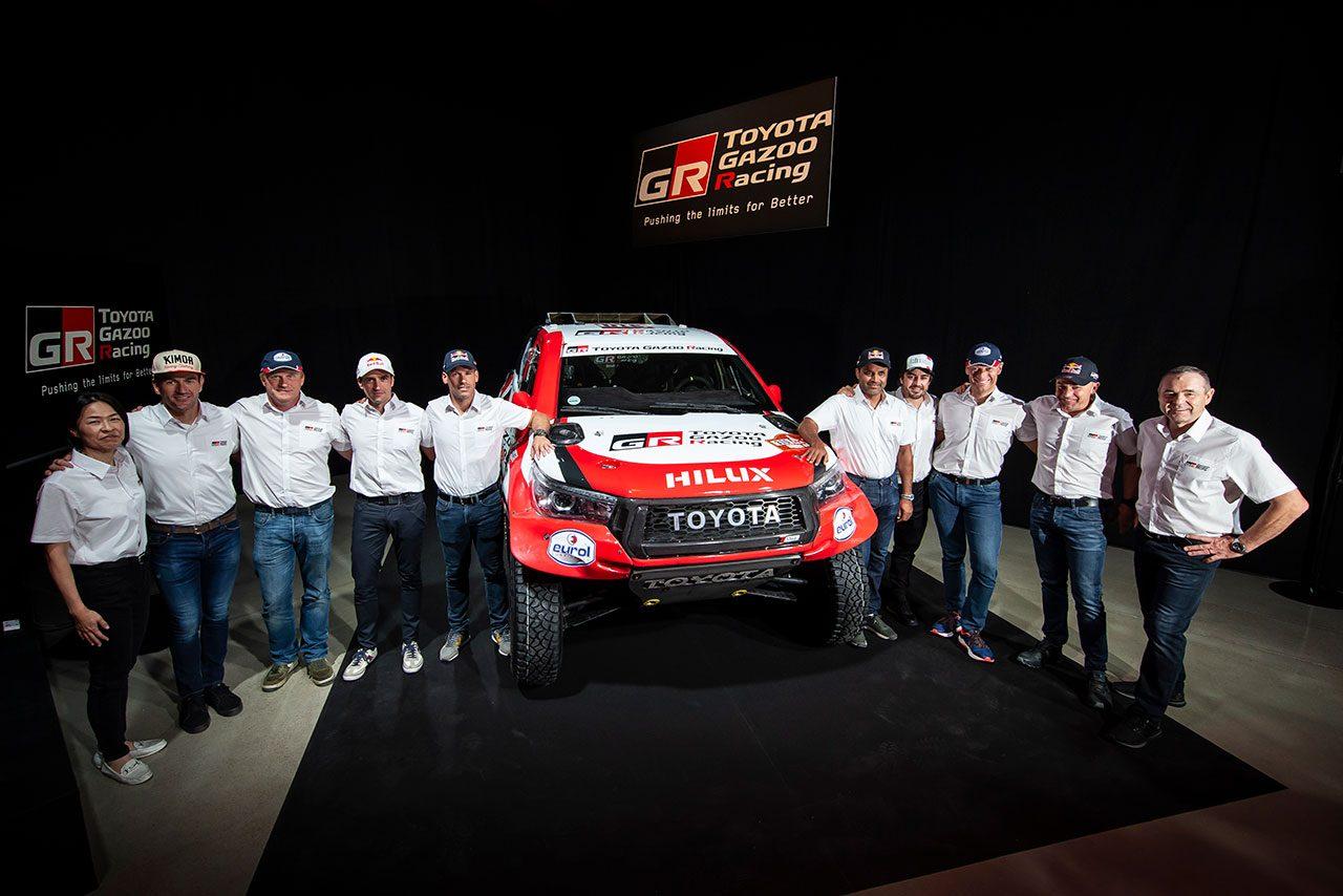 2020年ダカールラリーに参戦するTOYOTA GAZOO Racing SA