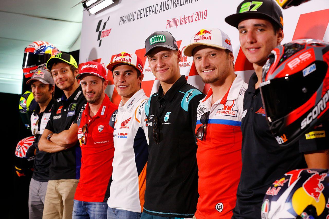 MotoGP第17戦オーストラリアGP事前コメント
