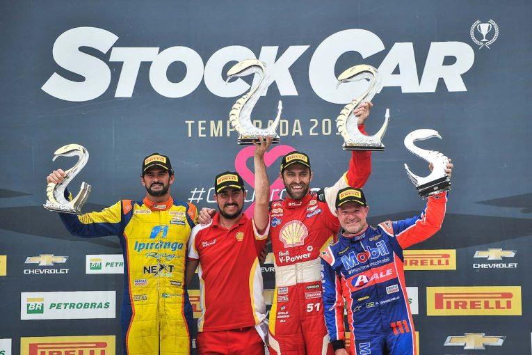 海外レース他 | ストックカーブラジル第9戦でバリチェロが3位表彰台。チャンピオン争いは混戦模様