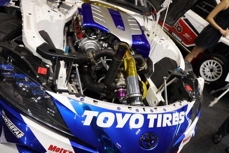 海外レース他 | V8エンジン搭載の1000馬力超えGRスープラを生んだ、高いボディ剛性とTOYO TIRESのグリップ力