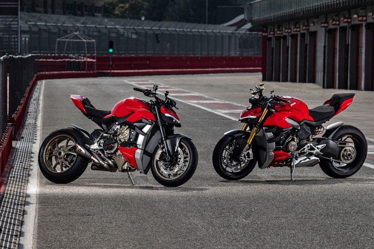 MotoGP | ドゥカティ、ウイングとV型4気筒エンジン搭載したネイキッド『ストリートファイターV4/V4 S』を発表