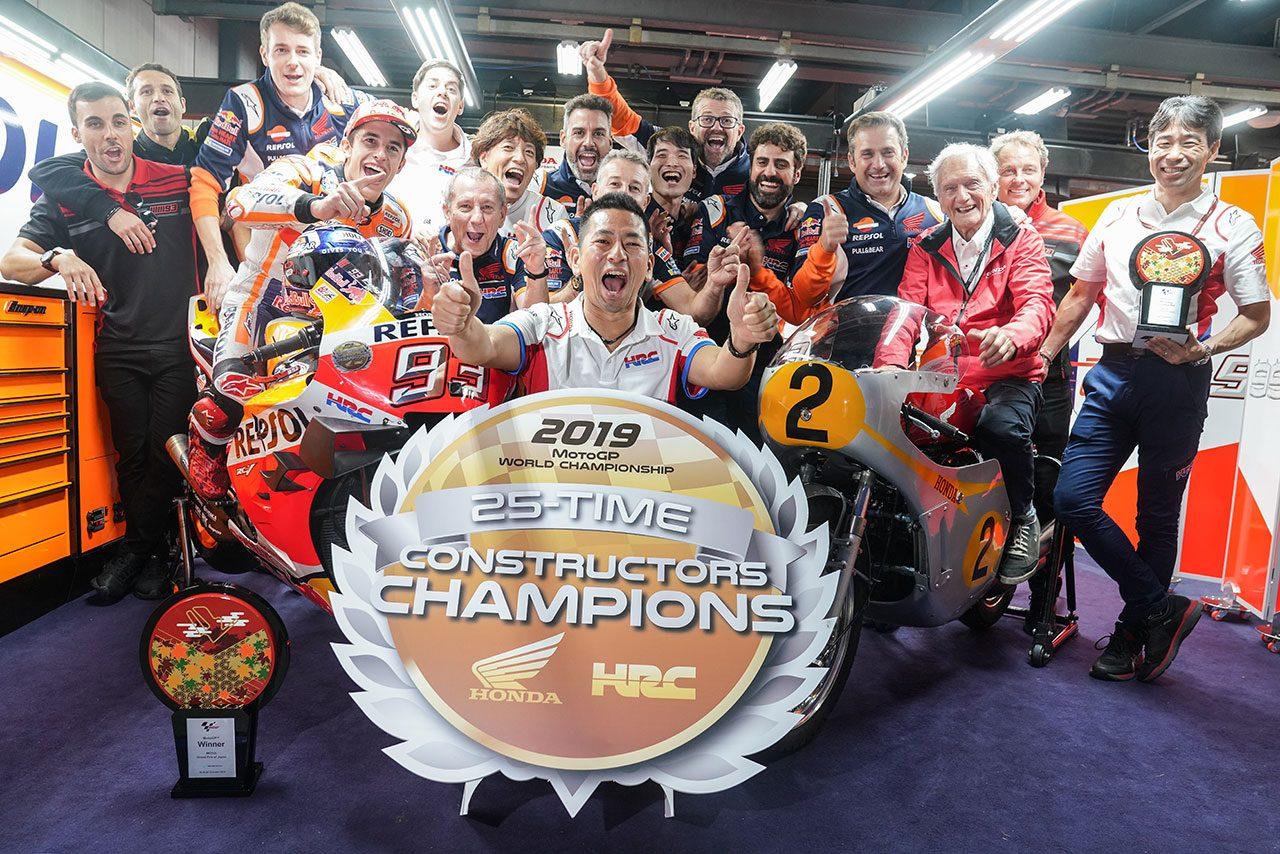 【MotoGPコラム後編】日本GPで赤面する敗北を喫するところだったマルケス。それを阻止したホンダの完ぺきな仕事