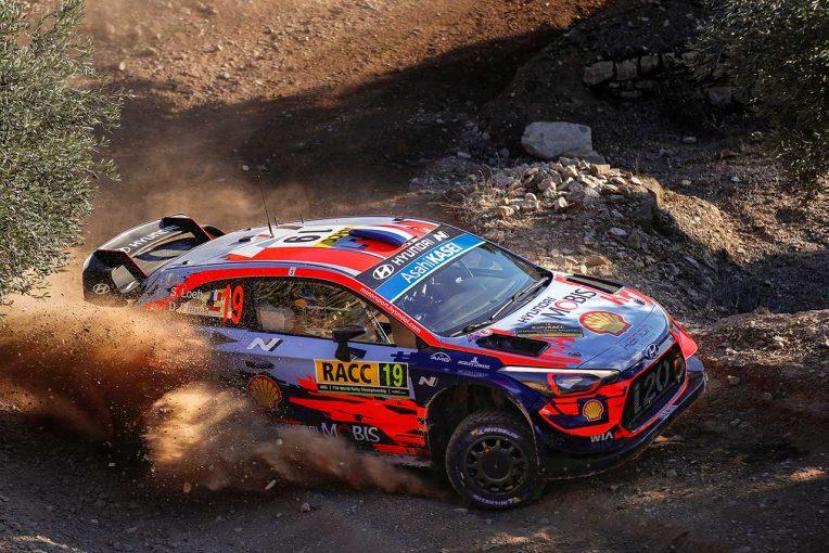 ラリー/WRC | 【順位結果】2019WRC第13戦スペイン SS6後