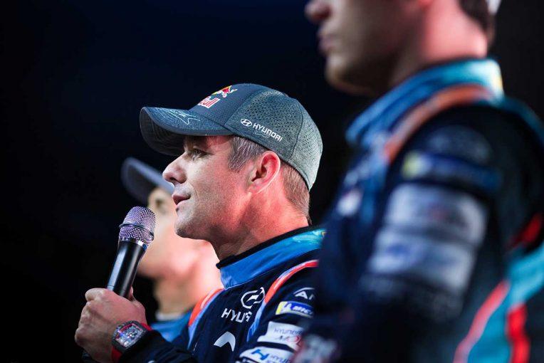 ラリー/WRC | WRC第13戦スペイン:前年覇者のローブが総合首位浮上。トヨタのタナクは総合5番手
