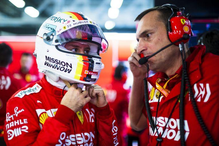 F1   ベッテル初日最速も慎重「フェルスタッペンに勝つのは簡単ではないし、メルセデスも侮れない」:フェラーリ F1メキシコGP