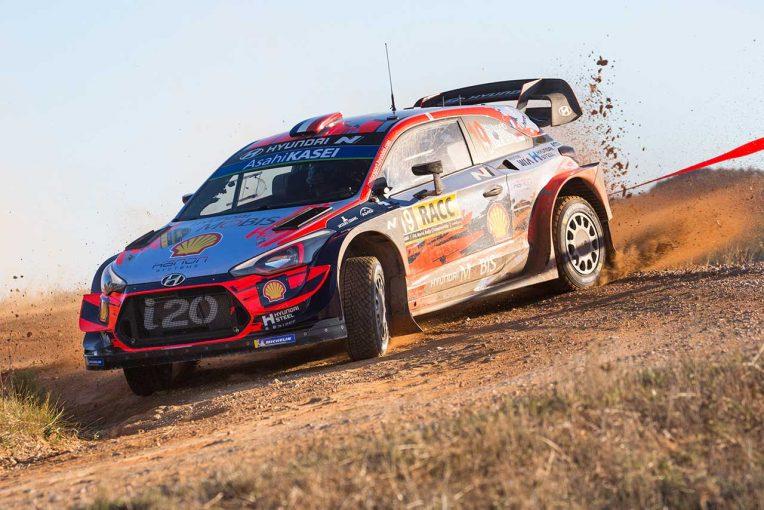 ラリー/WRC | 大会連覇へ好発進のローブ「最終ステージは飛ぶような速さだった」/2019WRC第13戦スペイン デイ1後コメント
