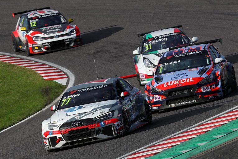 海外レース他 | WTCR鈴鹿:Audi Team Hitotuyamaの富田&宮田、ファンを沸かす活躍も悔しい結果に