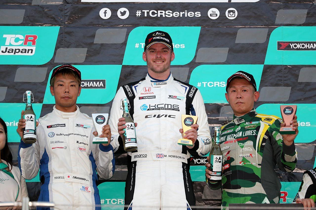 TCRジャパンシリーズ第5戦:初年度がついにフィナーレ迎える。ホーソンと松本がチャンピオン獲得