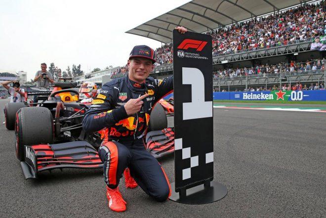 2019年F1第18戦メキシコGP予選 マックス・フェルスタッペンがポールポジション