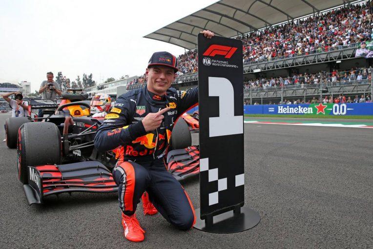 F1 | フェルスタッペンが今季2度目のポールポジション。ホンダPU勢は4台がQ3進出/F1メキシコGP予選