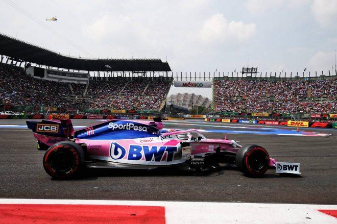 2019年F1第18戦メキシコGP セルジオ・ペレス(レーシングポイント)