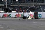 2019年F1第18戦メキシコGP バルテリ・ボッタス(メルセデス)が予選Q3でクラッシュ