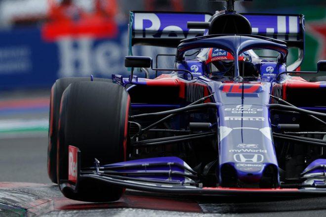 2019年F1第18戦メキシコGP予選 ピエール・ガスリー(トロロッソ・ホンダ)