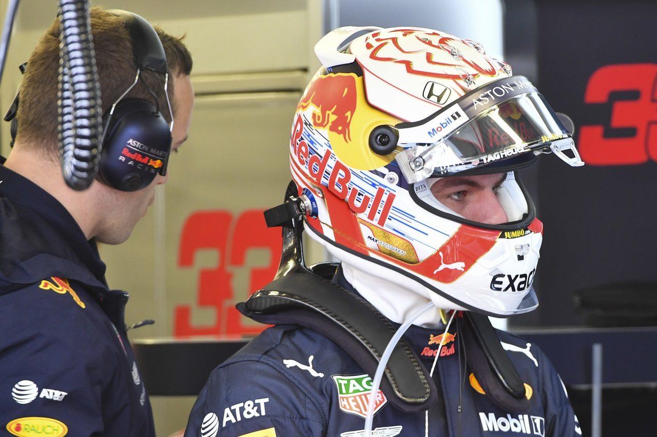 2019年F1第18戦メキシコGP マックス・フェルスタッペン(レッドブル・ホンダ)