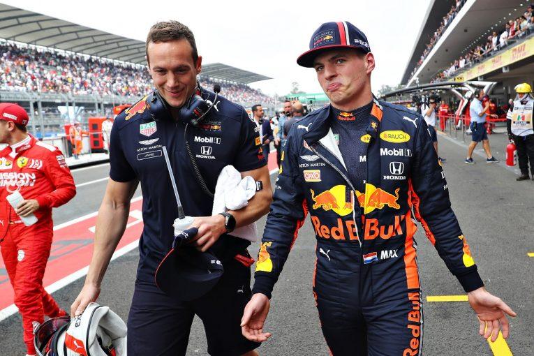 F1   降格のフェルスタッペン「ペナルティは残念。皆の努力が実って、予想外のポールを獲れたのに」:レッドブル・ホンダF1