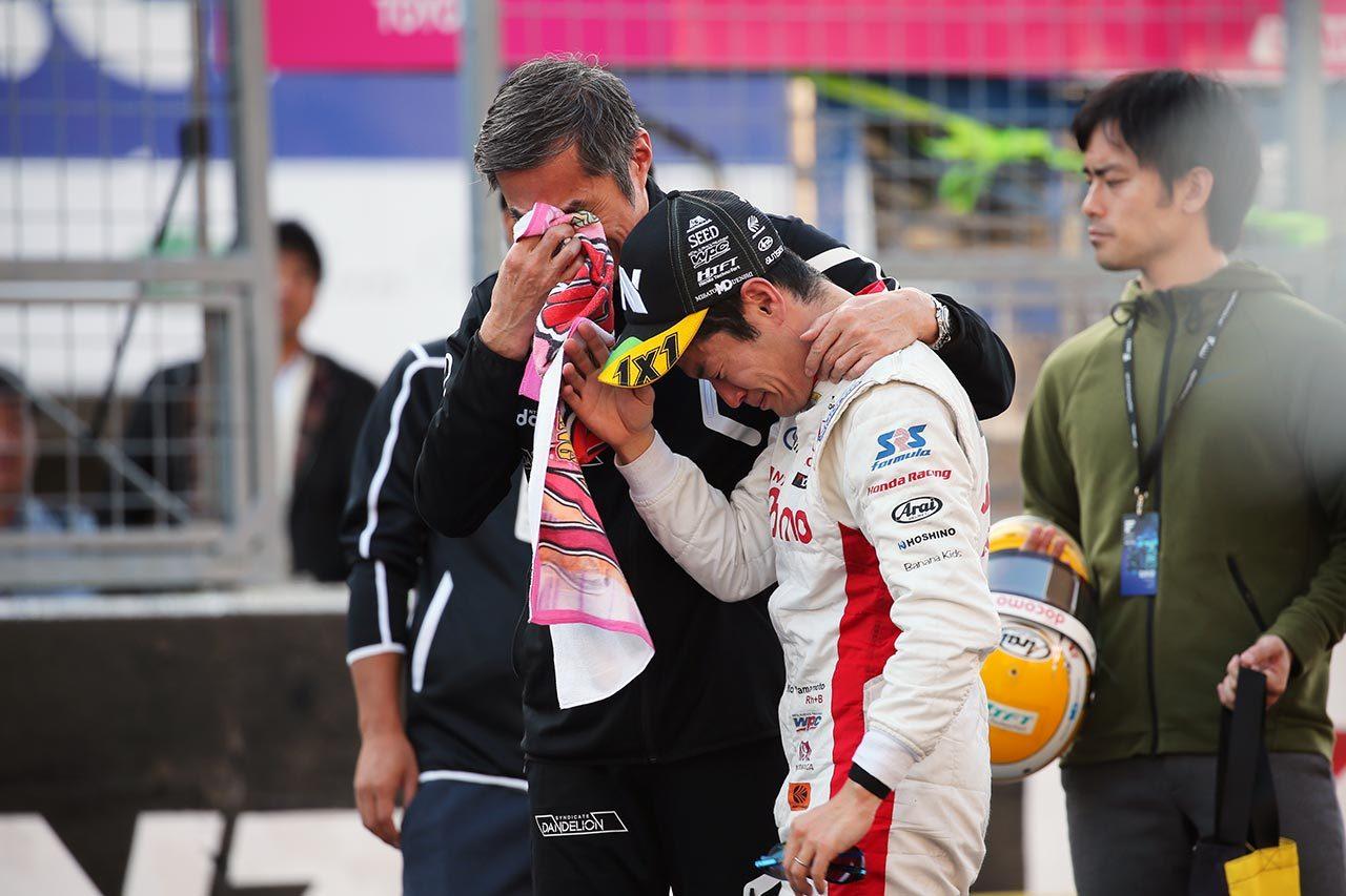 2019スーパーフォーミュラ第7戦鈴鹿決勝 山本尚貴(DOCOMO TEAM DANDELION RACING)